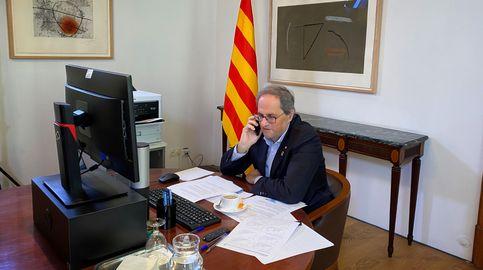 El pasaporte biológico se cae de la propuesta de Torra para desconfinar Cataluña