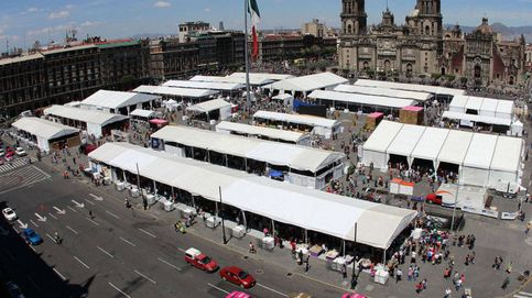 Feria del Zócalo en México: una llama de luz desde las profundidades de la Tierra