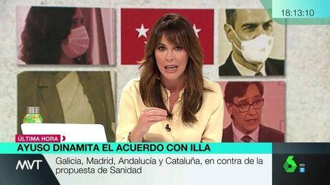 Mamen Mendizábal, tras el anuncio de Ayuso: No se acuerda del pacto de ayer