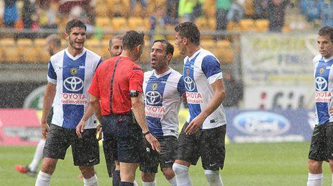Indignación en el Hércules: Ha ganado el despacho, no los jugadores del Cádiz