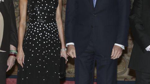 Letizia brilla con un nuevo Carolina Herrera que ya llevó la propia diseñadora