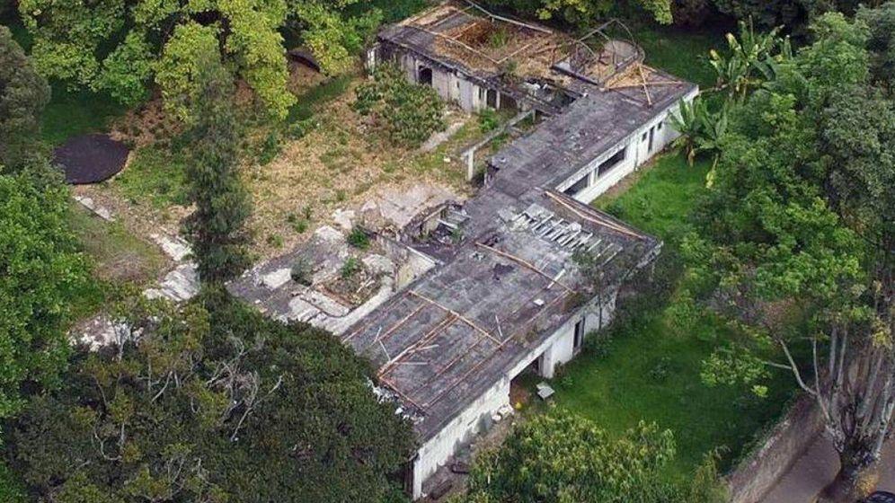 Foto: Estado actual de la mansión del Mexicano, en Bogota. (CC)