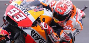 Post de Márquez pasa de Rossi... y de todos: