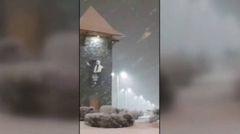 Gran nevada al sur de Argentina