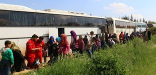 Post de Decenas de muertos en un atentado contra un convoy de evacuados en Alepo