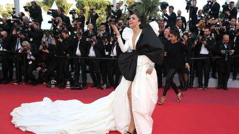 Cannes: Eva Herzigova sin falda y otros despropósitos de la (extraña) alfombra roja