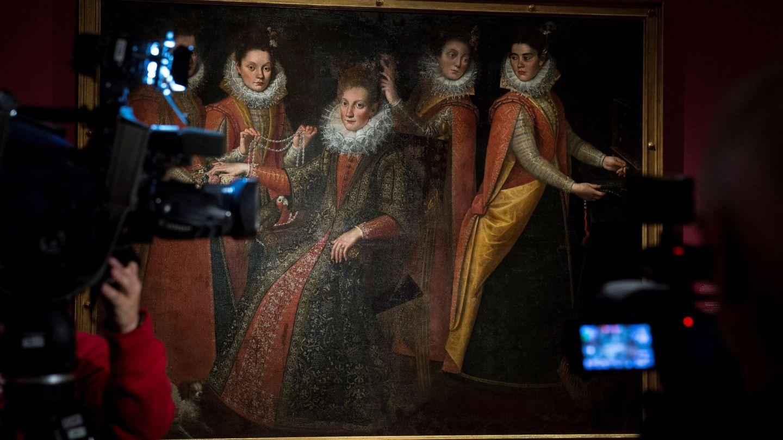 Vista de una de las obras que forman parte de la nueva exposición de las artistas Sofonisba Anguissola y Lavinia Fontana en el Prado (EFE)