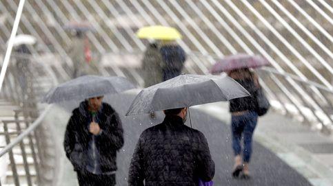 Aviso por lluvia, nieve y oleaje en 14 provincias y vuelve el frío a casi todo el país