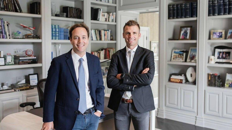 Los fundadores de Pacaso. Foto: Pacaso.
