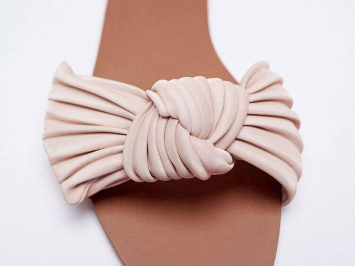 Foto: Las sandalias planas de Zara. (Cortesía)
