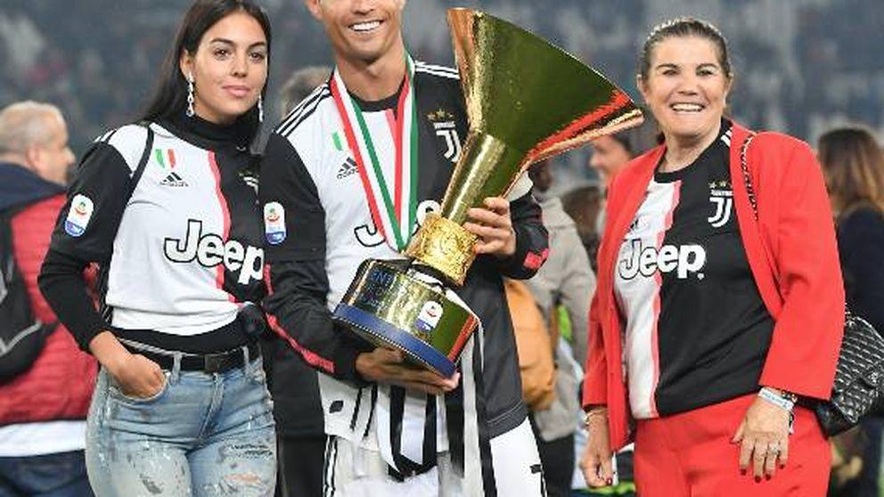 Cristiano Ronaldo, Georgina y su suegra: una mala combinación en Instagram