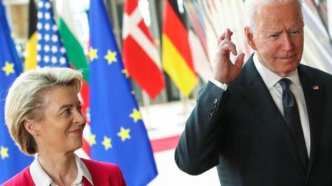 La UE y Biden sellan su luna de miel con una tregua comercial, pero las diferencias siguen