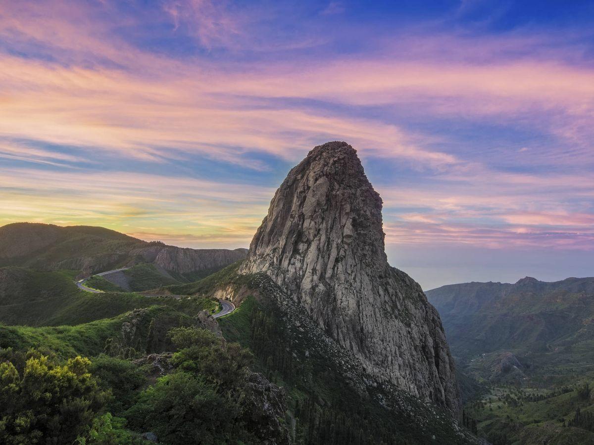 Foto: Atardecer en la isla de La Gomera (Fuente: iStock)