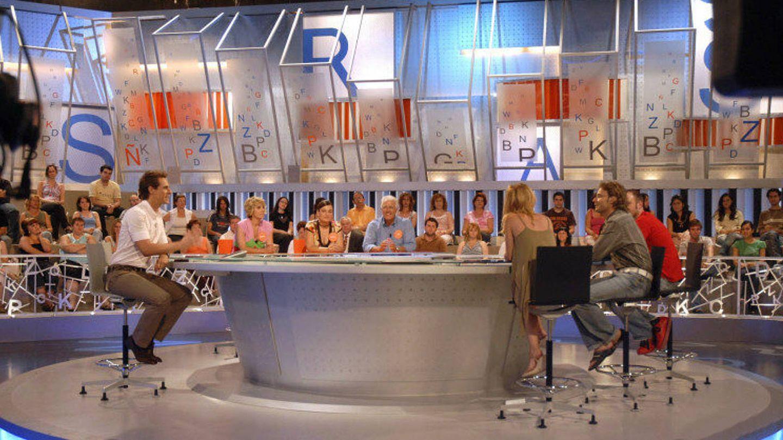 Primer plató de 'Pasapalabra' en Telecinco. (Mediaset)