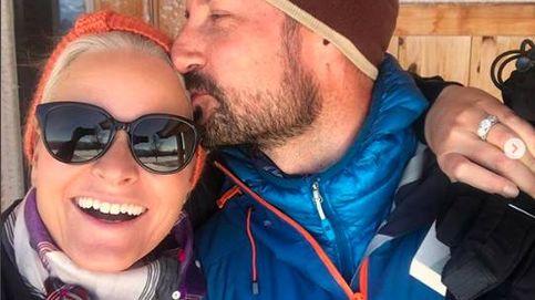 Las románticas vacaciones de Haakon y Mette-Marit (y compartidas vía Instagram)