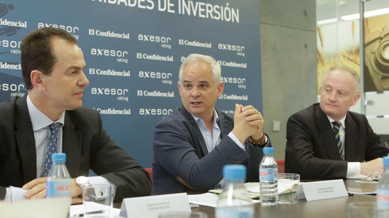 Adolfo Estévez, Alberto Artero y Álvaro Canosa Castillo.