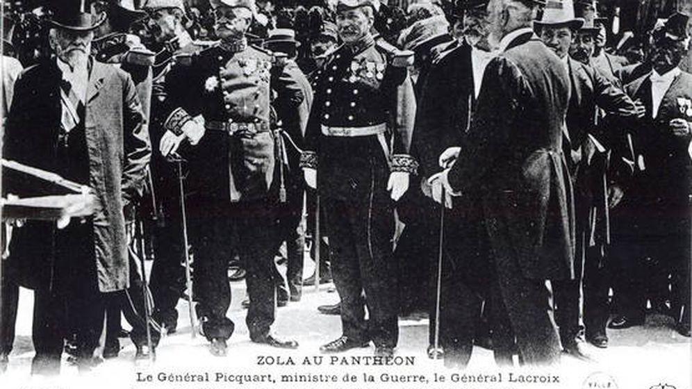Foto: Generales de la República en la época del caso Dreyfus