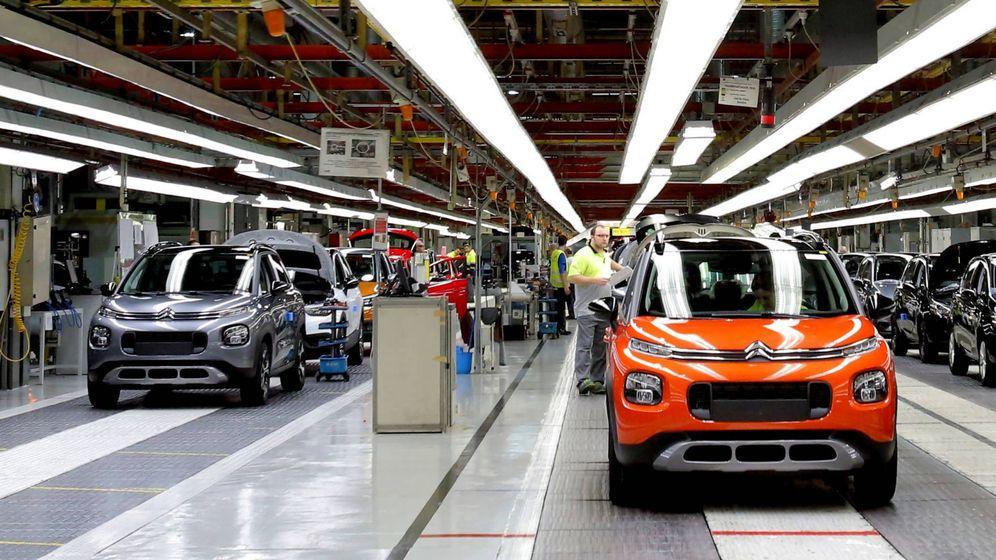 Foto: El Citroën C3 AirCross se fabrica en la planta del Grupo PSA en Figueruelas (Zaragoza).