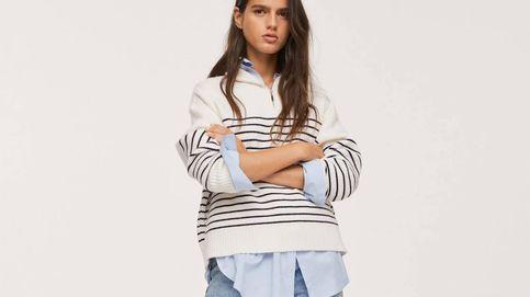 El jersey marinero de rayas de Mango que agota todas las tallas (con razón)