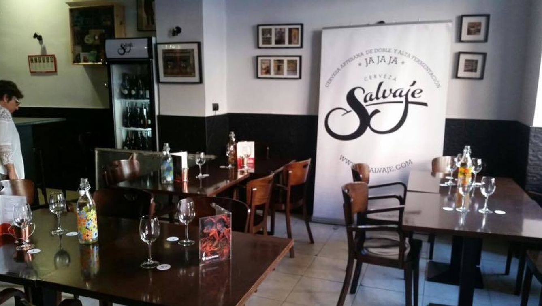 Foto: Cata de cerveza Salvaje en la taberna Alma Cheli