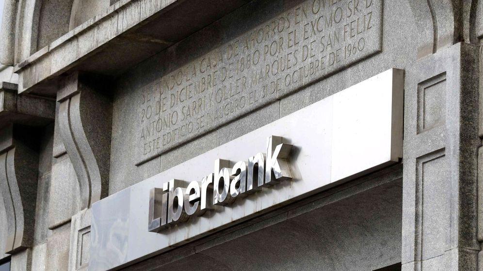 Foto: Oficina de Liberbank. (EFE)
