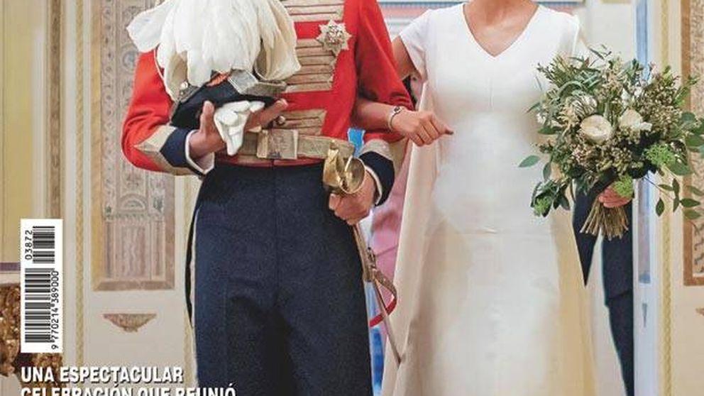 Las revistas analizan la boda de los duques de Huéscar