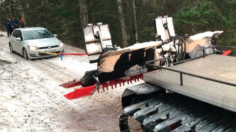 Atrapados en una pista de esquí para saltarse un control por el toque de queda