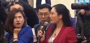 Post de El Gobierno chino silencia a una periodista porque puso los ojos en blanco