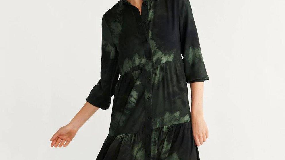 Este vestido de Mango, que solo puedes comprar online, es lo que necesitas para estas rebajas