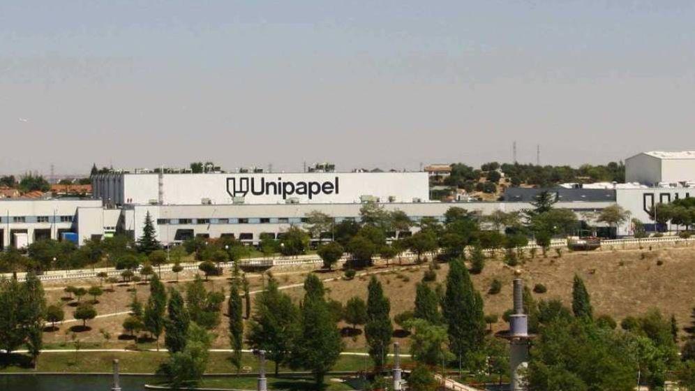 Foto: Fábrica de la empresa Unipapel. (Aspa)