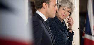 Post de May ante Macron: Londres intenta explotar las grietas en la UE para salvar el Brexit