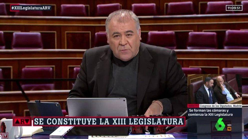 La denuncia de Ferreras: Nos están censurando imágenes de Junqueras
