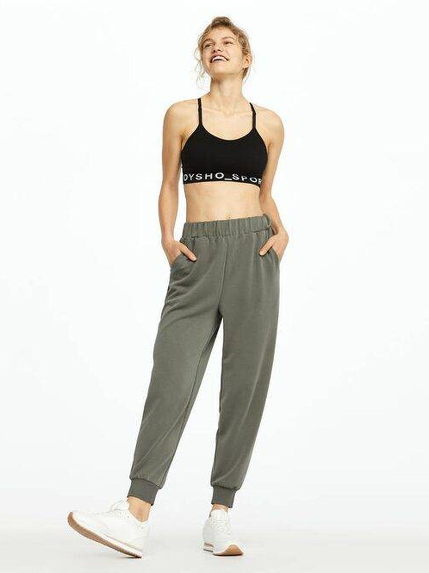 El pantalón jogger de Oysho (Cortesía)