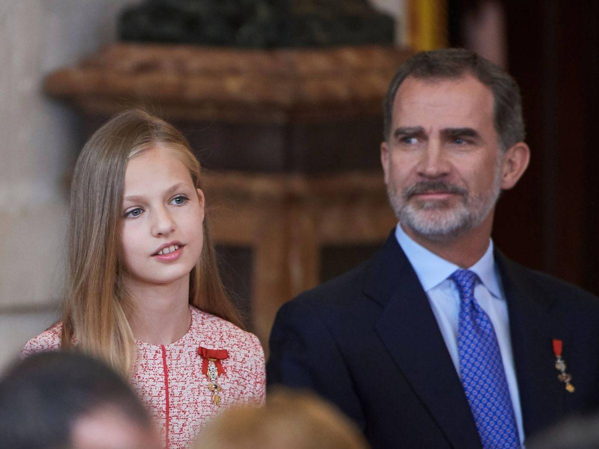 Foto: La princesa Leonor y el rey Felipe, en una imagen de archivo. (Limited Pictures)