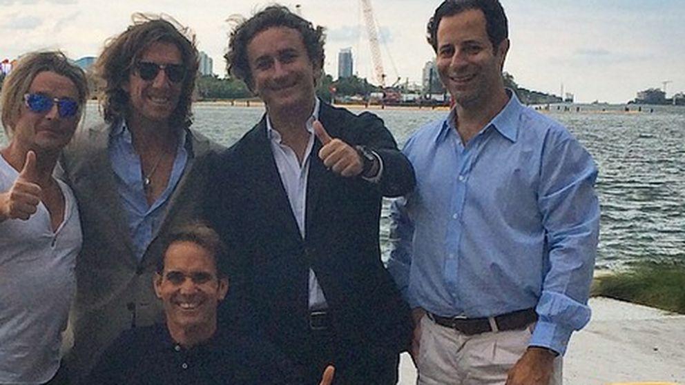 Agag, Colate y Chelala, un trío que 'triunfa' en Miami