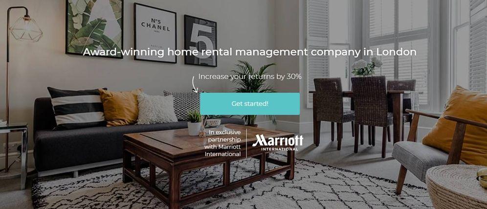 Foto: Así es Hostmaker, el socio de Marriott para entrar en el negocio de los alojamientos turísticos.
