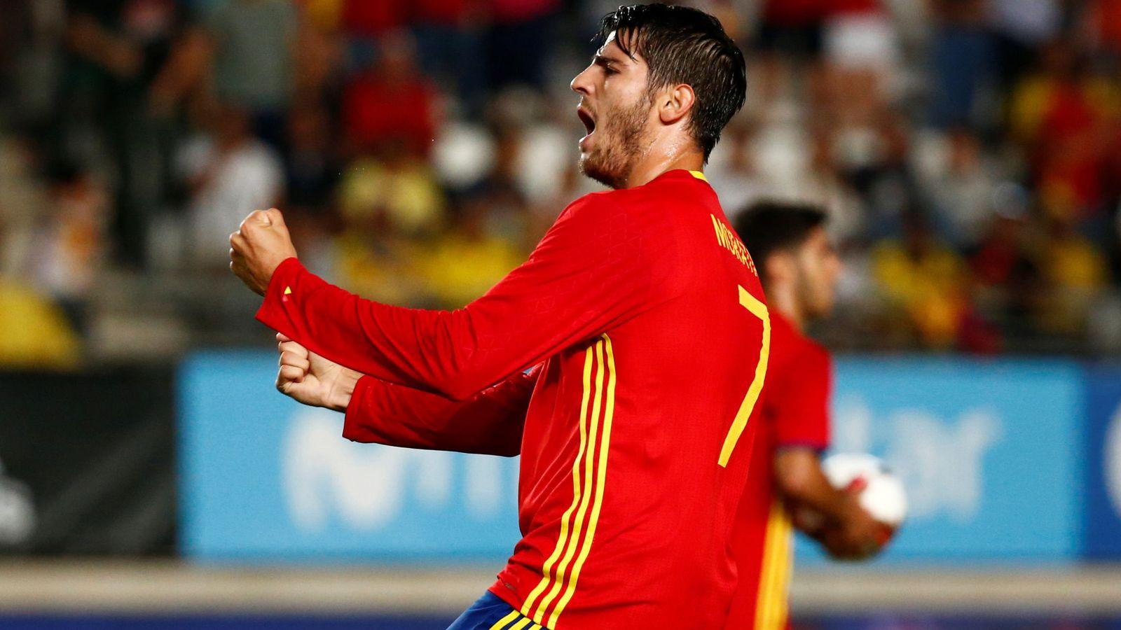 Foto: Morata ha marcado 9 goles con España. (Reuters)