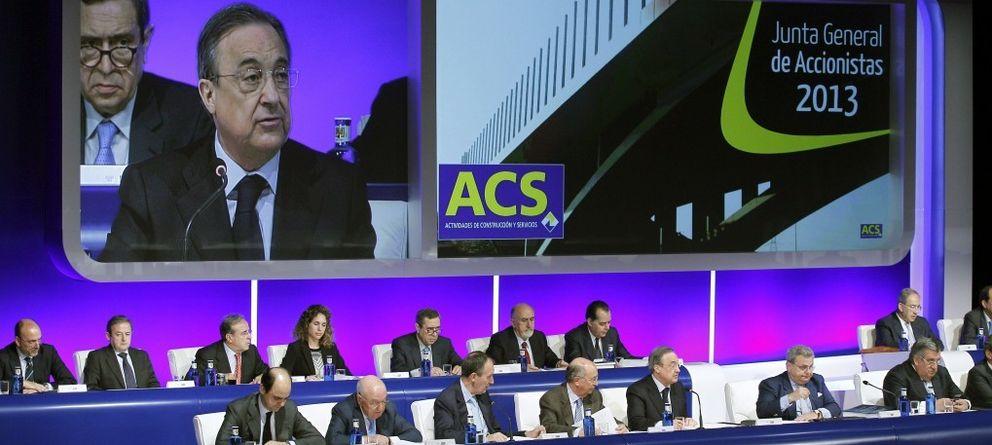 ACS dejará de pujar por contratas en España por las dificultades de cobro