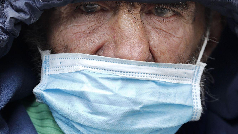 Foto: Una persona sin hogar. (EFE)