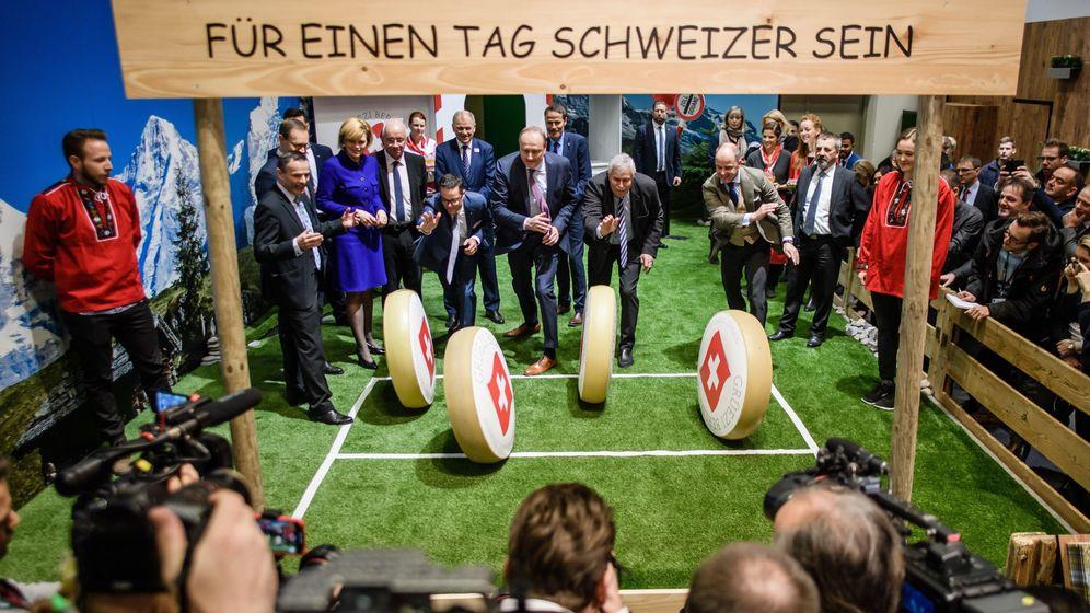 Foto: Imagen de archivo de la semana verde suiza. (EFE)