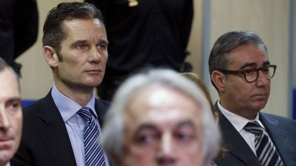 Foto: Iñaki Urdangarin y Diego Torres durante el juicio del caso Nóos (Gtres)