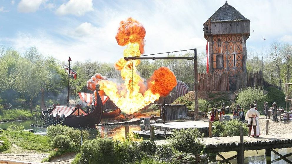 Alfombra roja para un vizconde francés: el parque histórico que sueña Page