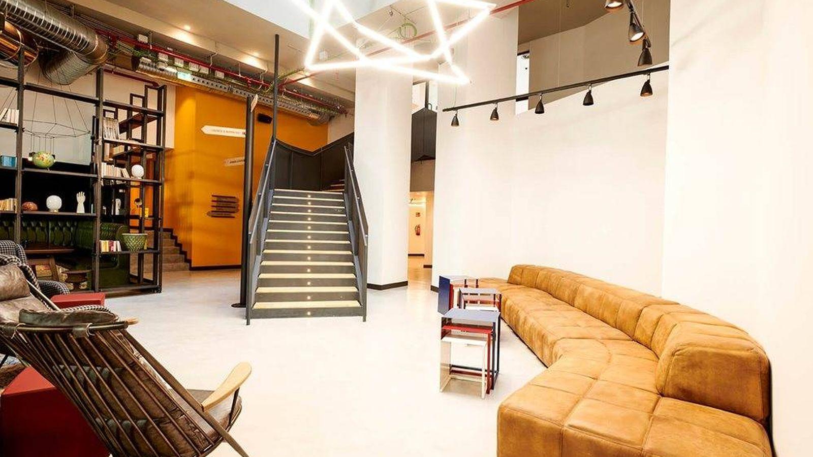 Foto: Así es el Generator de Madrid, un lugar para alojarse... y hacer amigos. (Cortesía)
