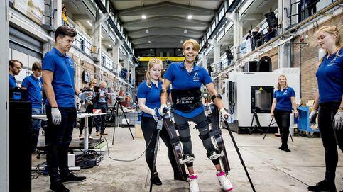 Exoesqueletos para que los tetrapléjicos puedan mover brazos y piernas