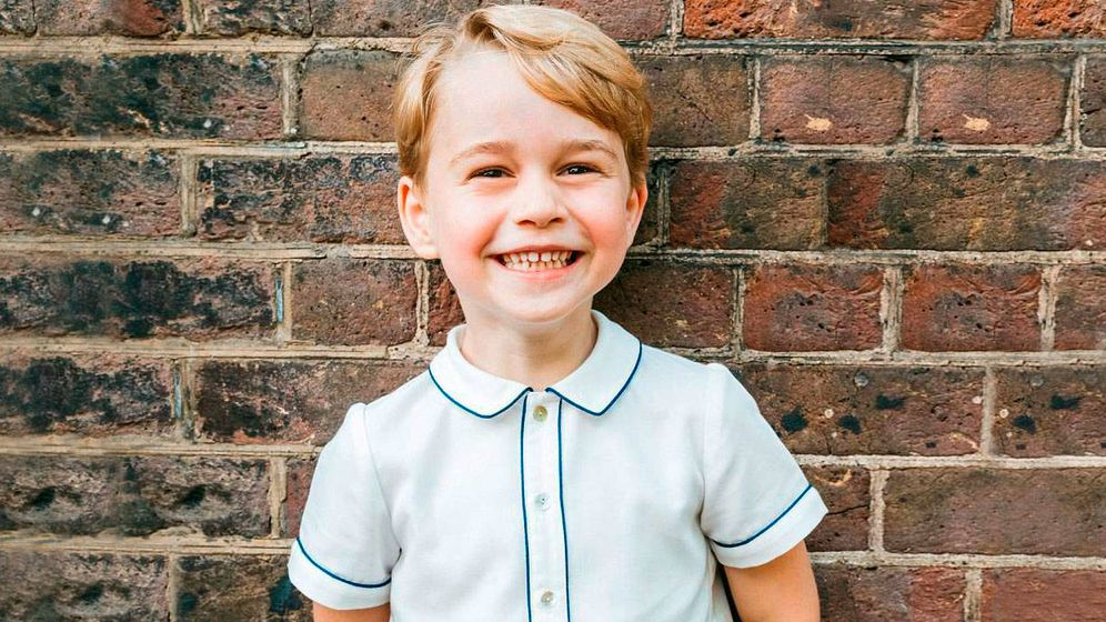 Foto: El príncipe George en una imagen de archivo. (Kensington Palace)