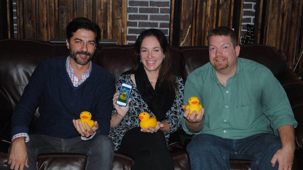 Foto: De izquierda a derecha, Don Inman, Amy Unger y Matt MacBeth, fundadores de la 'startup' Pi Lab