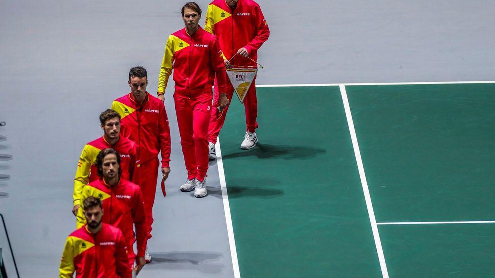 Foto: España debuta este martes en la Copa Davis y el miércoles jugará contra Croacia. (EFE)