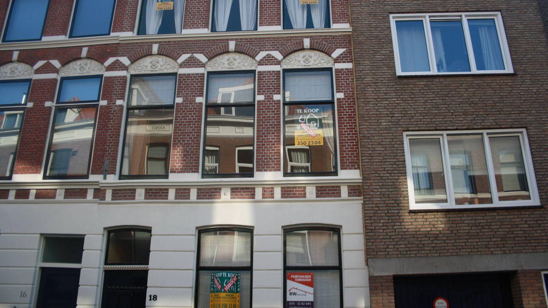 Pisos en venta en un edificio de La Haya. (I. Rachidi)