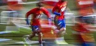 Post de La alianza de Ramos y Piqué hace que la Selección deje 'tirada' a Gijón