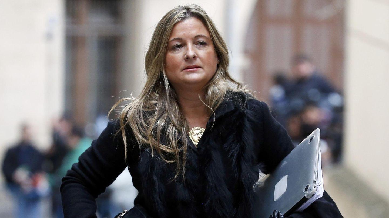 Virginia López Negrete, abogada de Manos Limpias, en Palma. (Reuters)